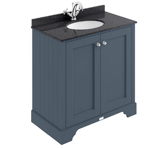 Additional image of Bayswater Pointing White 800mm 2 Door Basin Cabinet