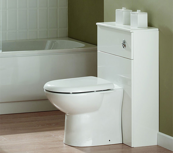 Essential Alaska Back To Wall WC Furniture Unit 500 x 300mm