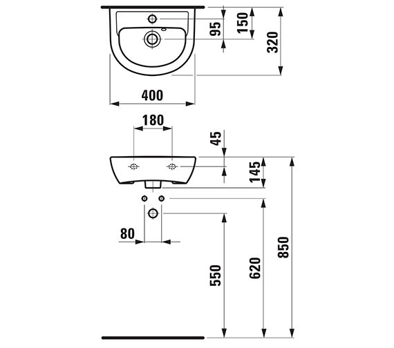 Technical drawing QS-V41935 / 15951WH
