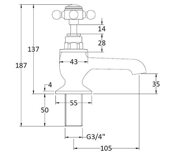 Technical drawing QS-V89218 / BAYT102
