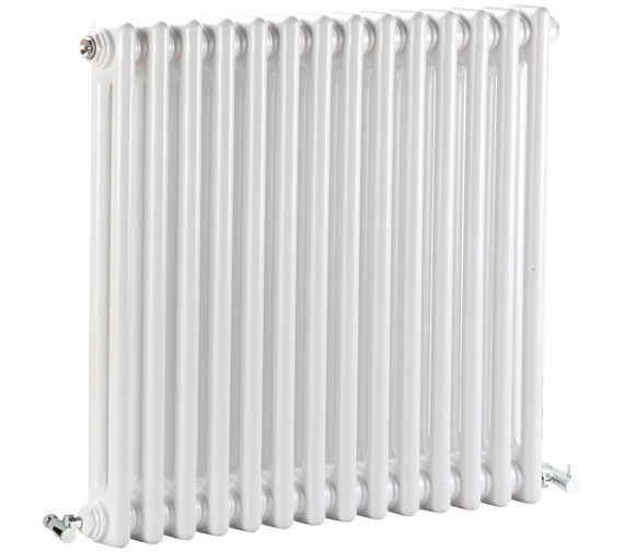 Bayswater Nelson 650 x 600mm White Double Radiator