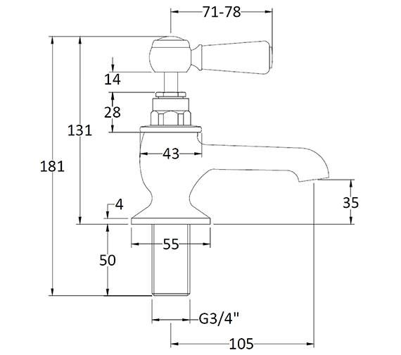 Technical drawing QS-V89220 / BAYT402