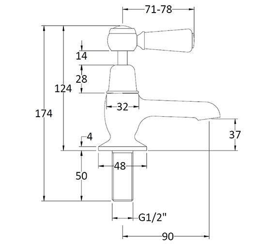 Technical drawing QS-V89215 / BAYT301