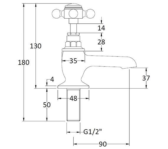 Technical drawing QS-V89214 / BAYT101