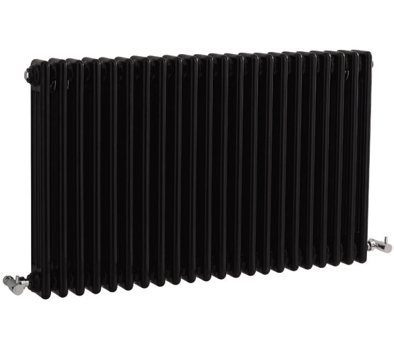 Bayswater Nelson 1011 x 600mm Black Triple Radiator