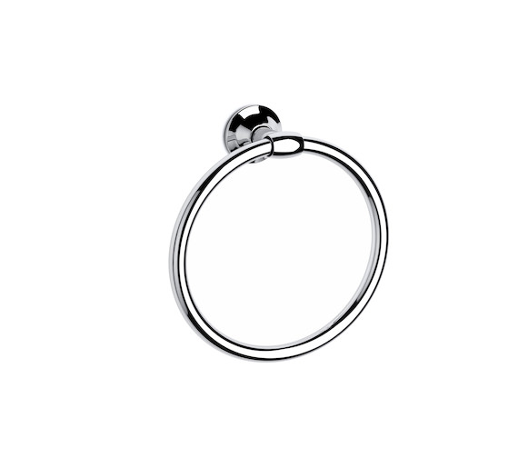 Roca Hotels Round Towel Ring 200mm