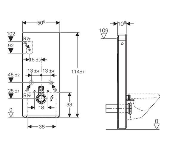 Technical drawing QS-V93593 / 131.231.SI.5