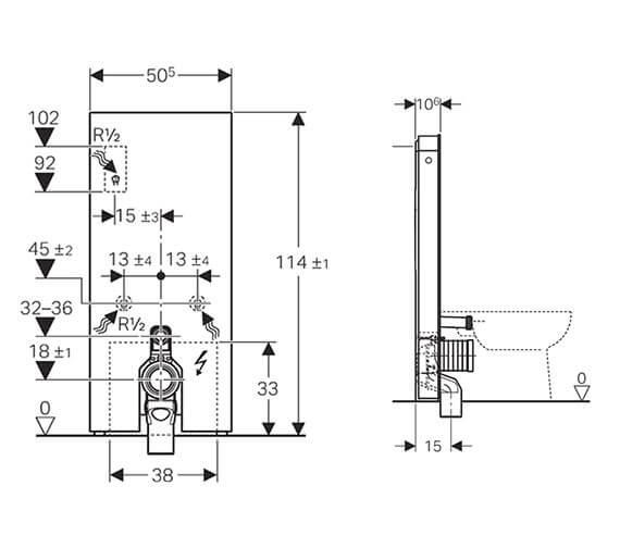 Technical drawing QS-V93594 / 131.233.SI.5