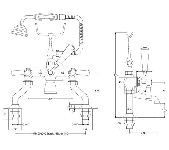 Technical drawing QS-V89224 / BAYT404