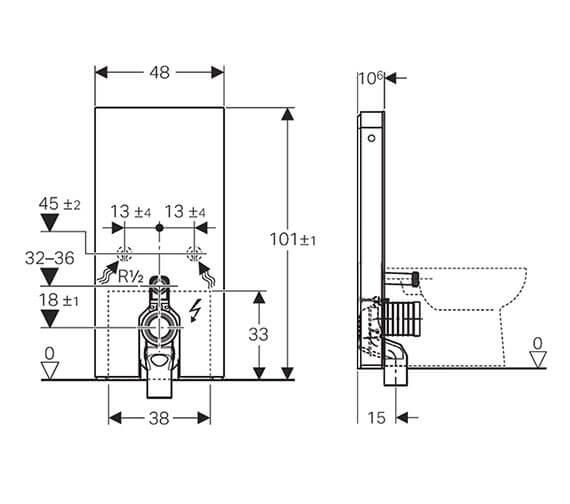 Technical drawing QS-V93591 / 131.202.SI.5