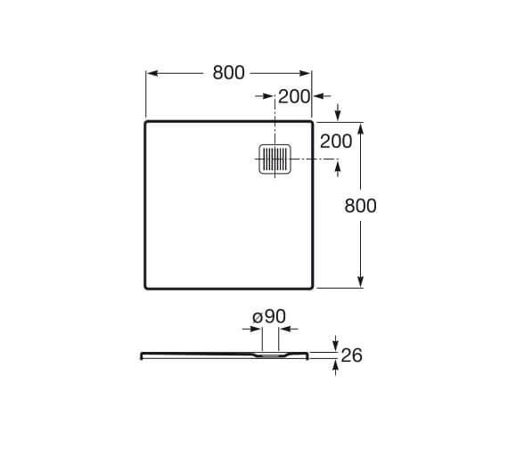 Technical drawing QS-V92064 / P10332032001100
