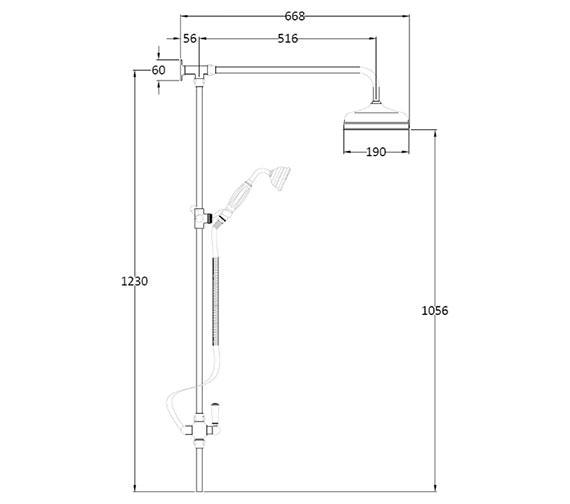 Technical drawing QS-V38651 / AM312