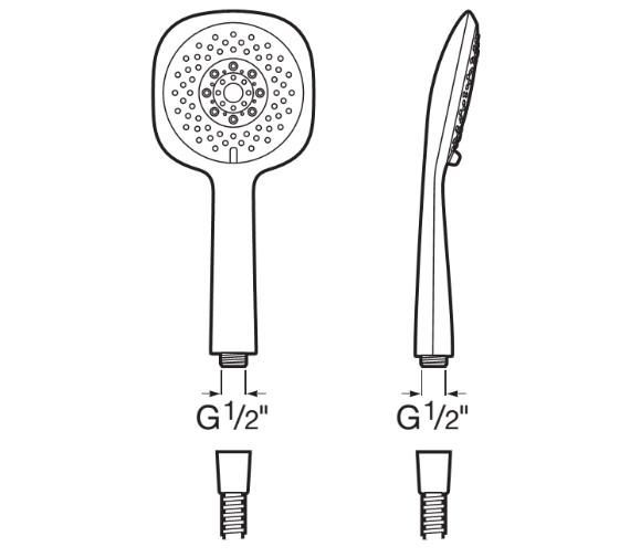 Technical drawing QS-V91225 / 5B9108C00