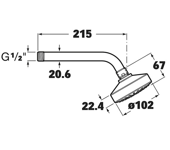 Technical drawing QS-V16746 / 5BH103C00