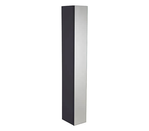 Alternate image of Roper Rhodes Scheme 1400 x 250mm Tall Mirrored Column Unit Gloss White