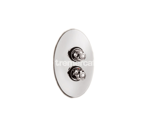 Tre Mercati Roma Gold Plated Concealed Thermostatic Shower Valve