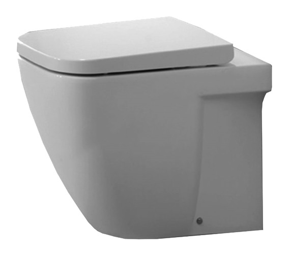 Essential Fuchsia Fully Back To Wall WC Pan 550mm