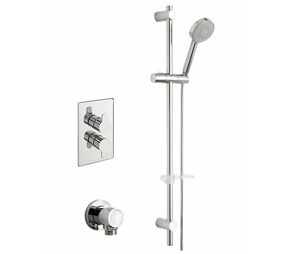 Tre Mercati Lollipop Concealed Valve With Slide Rail Kit And Outlet