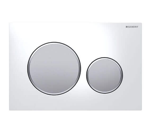 Additional image of Geberit Sigma20 Plastic Dual Flush Plate 246 x 164mm