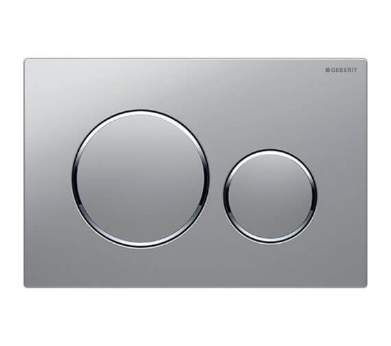 Alternate image of Geberit Sigma20 Plastic Dual Flush Plate 246 x 164mm