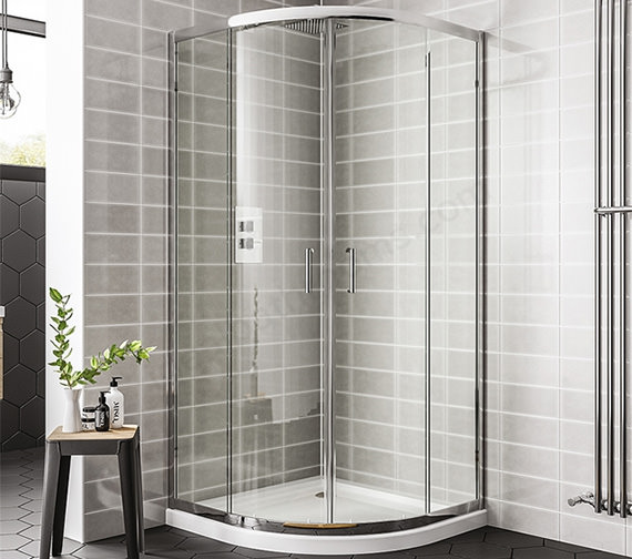 Essential Spring Double Door Quadrant Enclosure 900 x 1900mm
