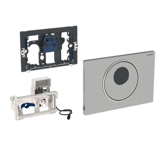 Geberit Sigma10 Infrared Electronic Dual Flush Actuator - Mains Operated