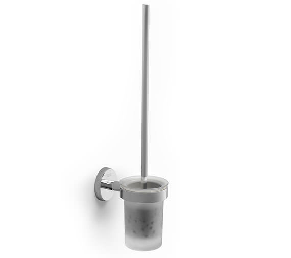 Roca Twin 76 x 115mm Wall Mounted Toilet Brush And Holder