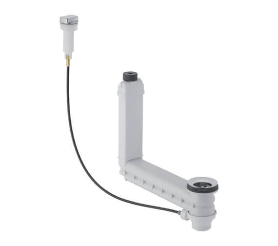 Geberit Washbasin Connector Clou With Cable Actuation And Turn Handle