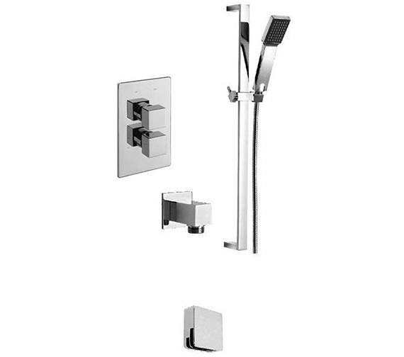 Tre Mercati Dance Thermostatic 2 Way Diverter Valve And Shower Set