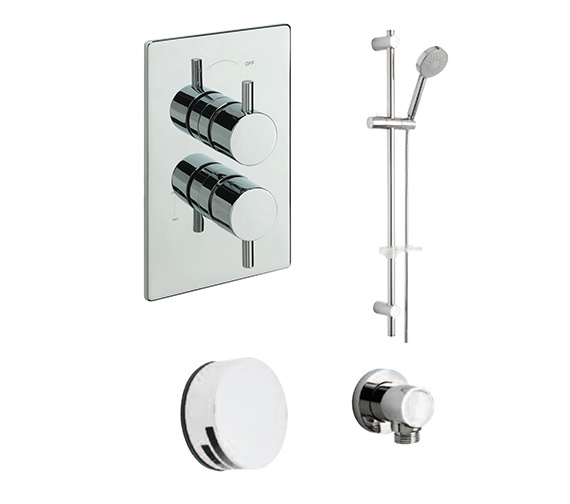 Tre Mercati Bella Concealed Valve With 2 Way Diverter And Shower Set