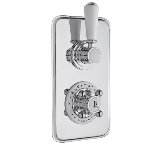 Bayswater Twin Concealed Shower Valve Without Diverter
