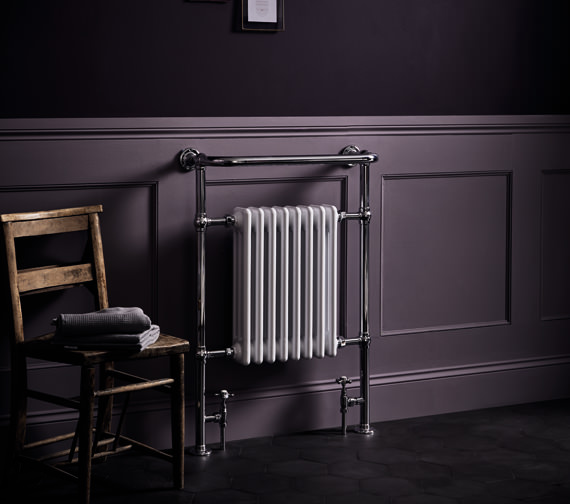 Bayswater Clifford 673 x 965mm Towel Rail Or Radiator