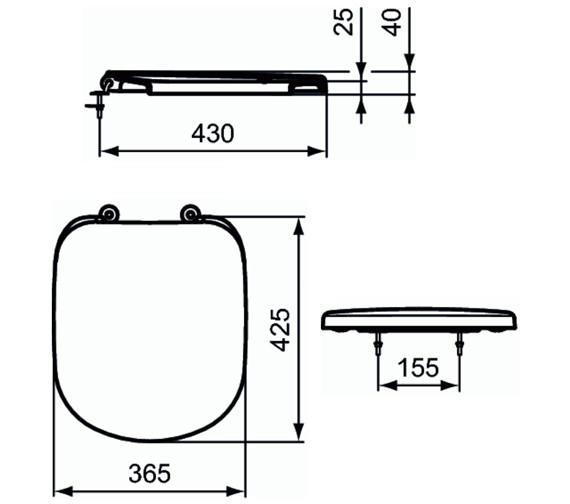 Technical drawing QS-V10455 / T679201
