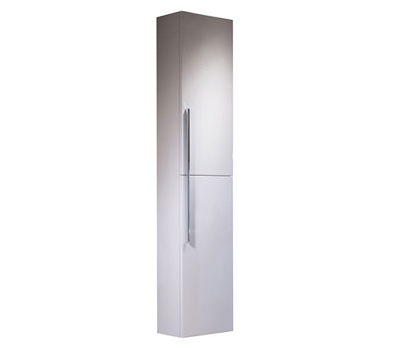 Roper Rhodes Envy 1480mm Tall White Storage Cupboard