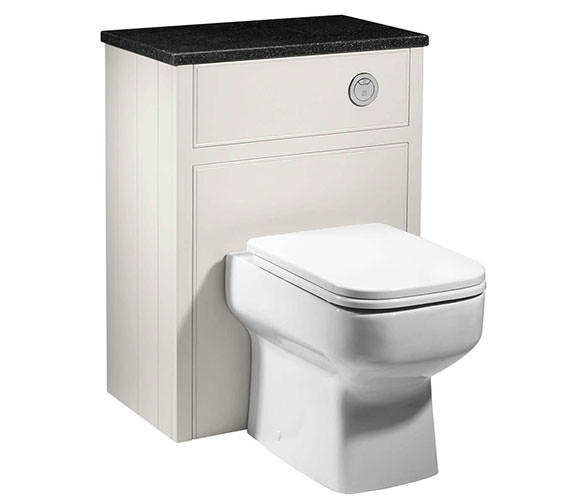 Alternate image of Roper Rhodes Hampton 600mm Back To Wall WC Unit Vanilla