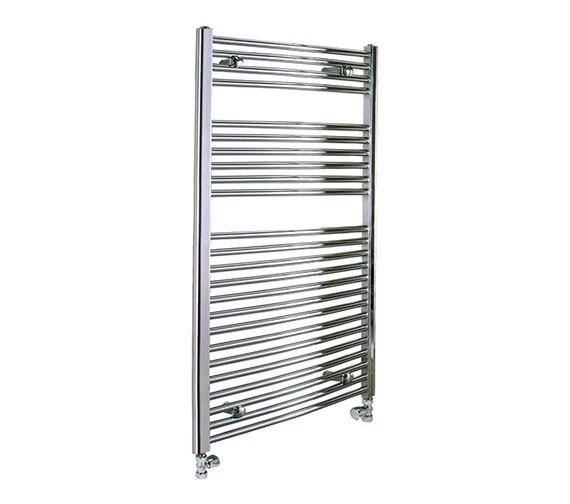 Reina Diva 600 x 800mm Chrome Flat Towel Rail - More Height Sizes Available