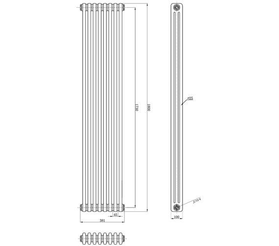 Technical drawing QS-V42419 / BAYR020