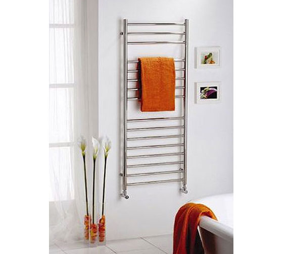Alternate image of Reina Diva 600 x 800mm Chrome Flat Towel Rail - More Height Sizes Available