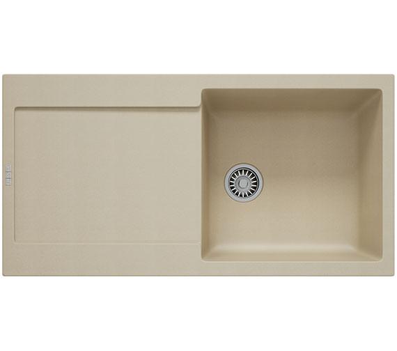 Additional image of Franke Maris MRG 611 Fragranite 1.0 Bowl Polar White Finish Kitchen Inset Sink