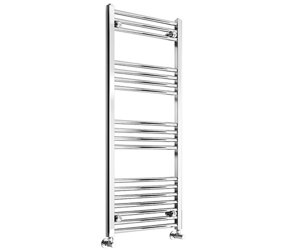 Reina Capo 400mm Wide Chrome Flat Towel Rail
