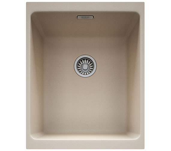 Additional image of Franke Kubus KBG 110 34 Fragranite 1.0 Bowl Polar White Finish Undermount Sink