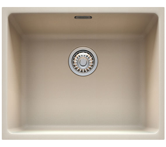 Additional image of Franke Kubus KBG 110 50 Fragranite 1.0 Bowl Polar White Undermount Sink