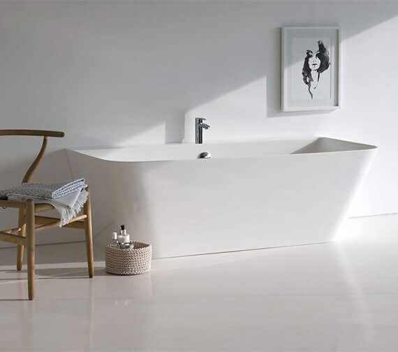 Clearwater Patinato Petite ClearStone Freestanding Bath 1524 x 800mm