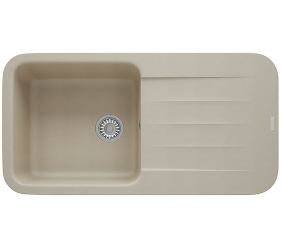 Additional image of Franke Pebel PBG 611-970 Fragranite 1.0 Bowl Inset Kitchen Sink
