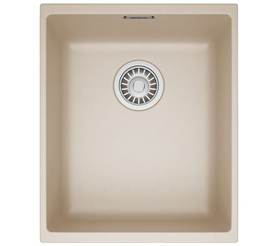 Additional image of Franke Sirius SID 110 34 Tectonite 1.0 Bowl Polar White Finish Undermount Sink