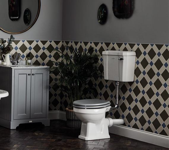 Bayswater Fitzroy 495mm WC Pan With Low Cistern