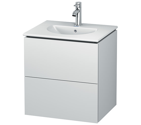 Duravit L-Cube Wall Mounted 2 Drawer Vanity Unit For Darling New Basin