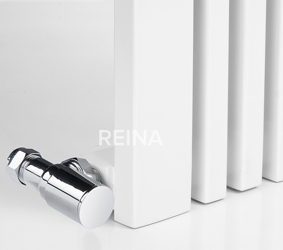 Additional image of Reina Bonera 1800mm High Vertical Steel Designer Radiator White Or Anthracite