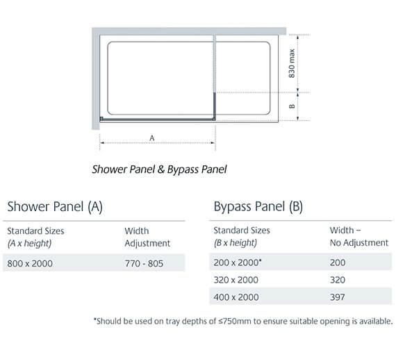 Technical drawing QS-V83891 / LK812-080S