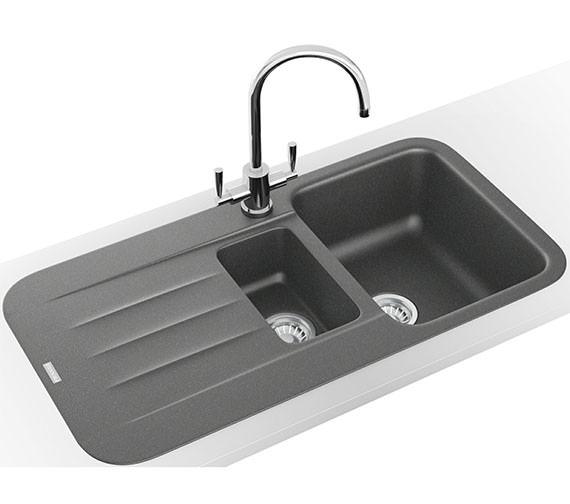 Alternate image of Franke Pebel Designer Pack PBG 651 Fragranite Inset Sink And Tap